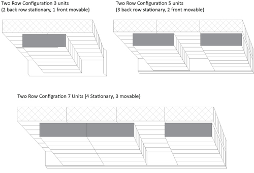 Movable Lateral Shelving Chart Storage System Charts