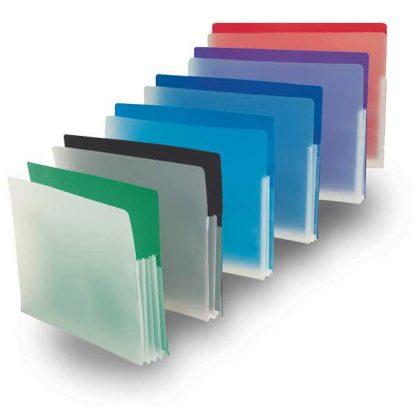 Plastic Expanding File Pockets