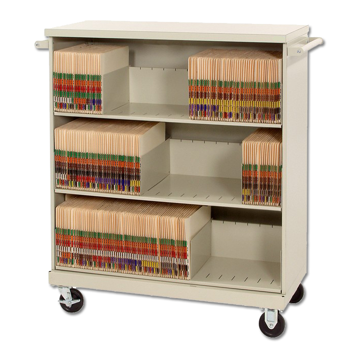Medical Chart File Folder Carts