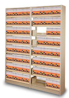 Medical Record Shelving & Chart Folder Storage Cabinets