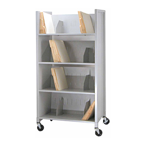 Medical Chart Folder Cart – Four (4) Tier