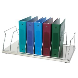 Eight (8) Space Chart Binder Storage Rack