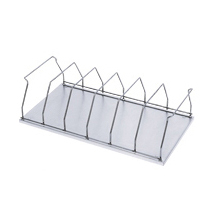 Six (6) Space Chart Binder Storage Rack