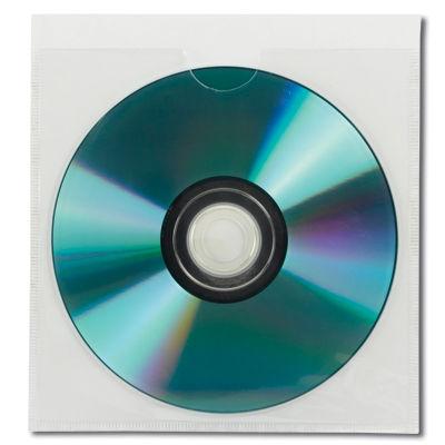 Self-Adhesive Poly CD/DVD Pocket