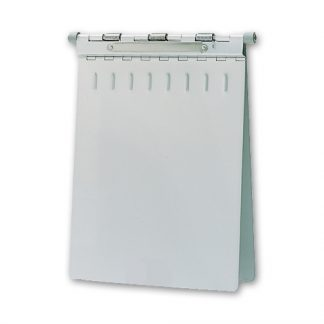 Medical Aluminum Chart Holder, Spring-Loaded, HIPPA Compliant