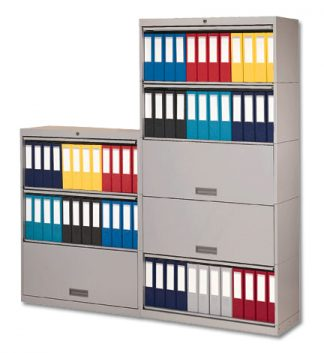 Locking Chart Binder Storage Cabinet – HIPAA Compliant