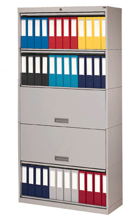 Locking Binder Storage Cabinets - HIPAA Compliant