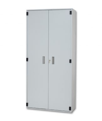 Locking Hinged Door Binder Storage Cabinet
