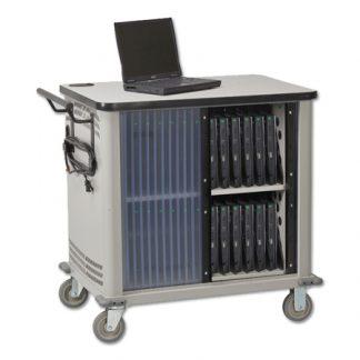 EMR Laptop Security Cart