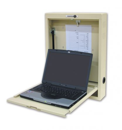 EMR Laptop Wall Desk