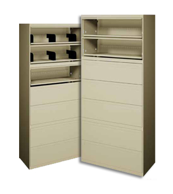 Locking Stackable File Cabinets