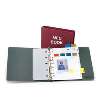 Medication Binder (MAR), Med Books & Flag Alert System