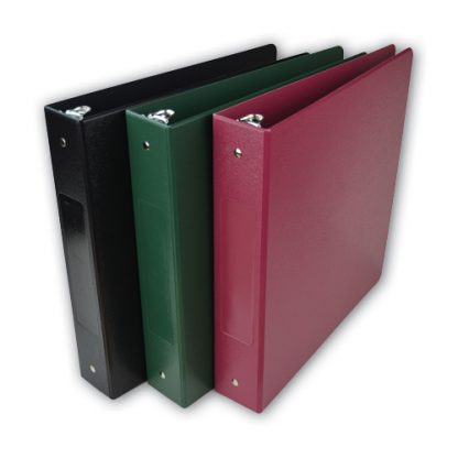 Medical Chart Binder, 1″ Side-Load Patient Ringbinder