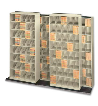 Movable Lateral Shelving – Chart Storage System