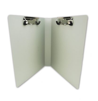 Privacy Ringbinder Clipboard – Dual Clips!