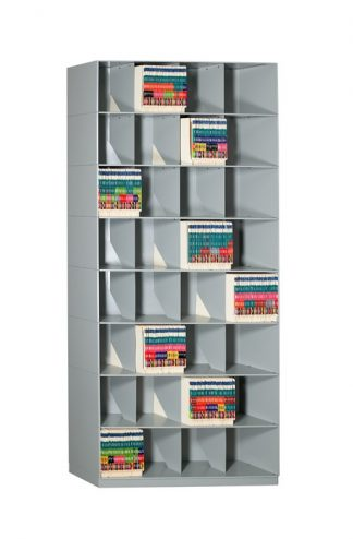 Slant Stackable Shelving – Chart Storage