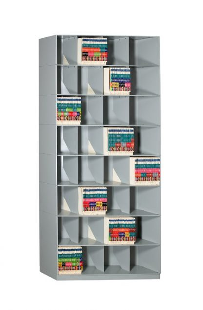 Slant Stackable Shelving – Chart Storage