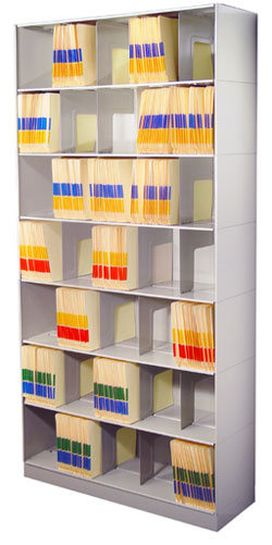 Stackable Shelving – Chart Storage