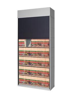 Tambour Door Security Shade – 100% HIPAA Compliant