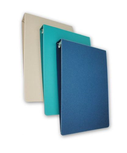 Medical Chart Binder, Top-Load, 1.5″ Poly-Molded Patient Ringbinder
